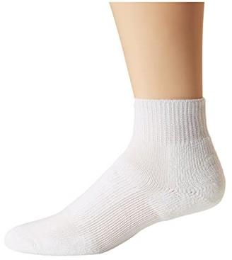 Thorlos Walking No Show Single Pair (White) No Show Socks Shoes