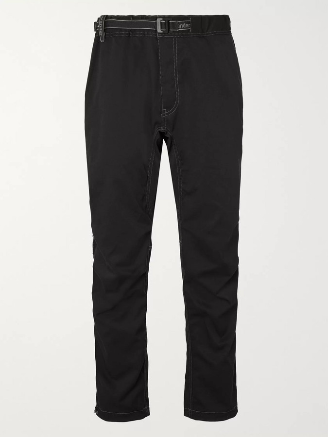 and wander Tapered Woven Trousers - Men - Black - 5