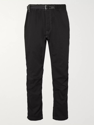 and wander Tapered Woven Trousers - Men - Black