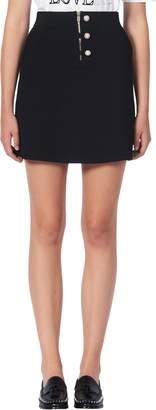 Sandro Bale Knit Miniskirt