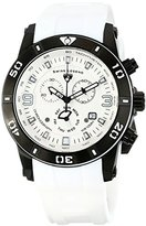 Swiss Legend Men's 10164-BB-02-WS Everest Analog Display Swiss Quartz White Watch
