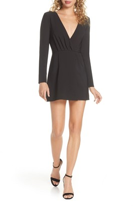 Finders Keepers Victoria Long Sleeve Minidress