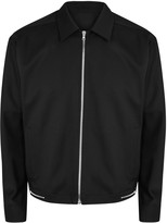 Solid Homme Black Stretch Wool Jacket