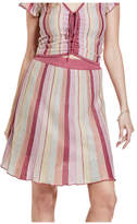 Guess Izzy Flared Striped Skirt