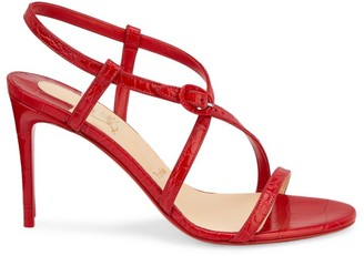 Christian Louboutin Selima Leather Slingback Sandals