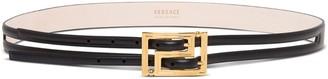 Versace Double Buckle Belt