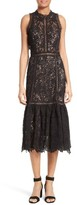Rebecca Taylor Women's Arella Lace Midi Dress