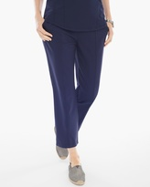 Chico's Seamed Knit Crop Pants