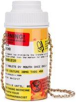 Moschino pill pot crossbody bag - women - Polyurethane - One Size
