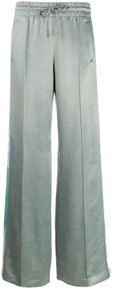 Off-White iridescent side panelled trousers