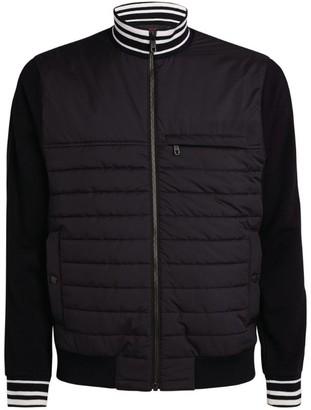 Ermenegildo Zegna Quilted Zip-Up Jacket
