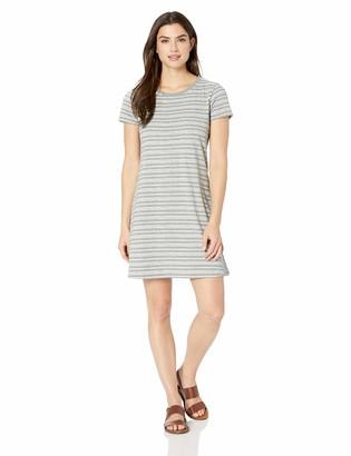 Life is Good Women's Smooth Tee Dress Watercolor Stripe