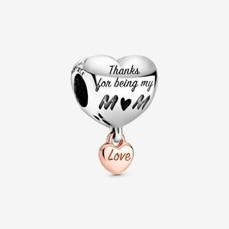 Pandora Love You Mum Heart Charm