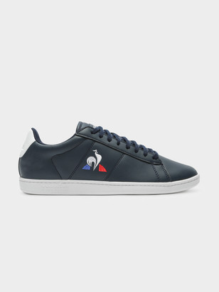 Le Coq Sportif Mens Courtset Sneakers in Navy
