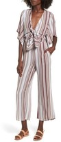 Faithfull The Brand Women's Tilos Stripe Knotted Jumpsuit