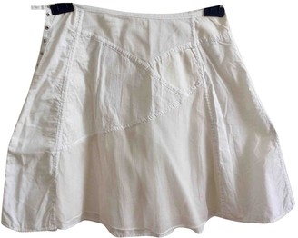 Vanessa Bruno White Cotton Skirt for Women