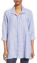 Foxcroft Women's Stripe Linen Tunic