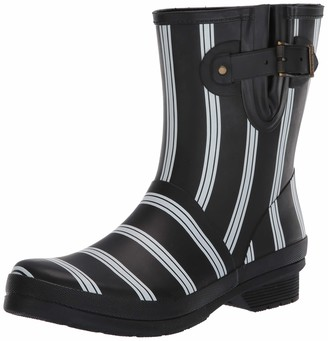 Chooka Smart Stripes Mid Boot Black 9