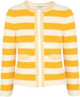 Sonia Rykiel Striped bouclé-knit jacket