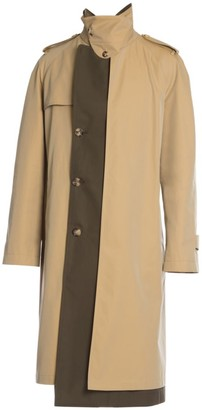 Alexander McQueen Colorblock Trench Coat