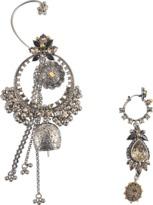 Alexander McQueen Asymetrical Earrings Set