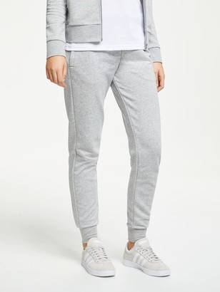 adidas Essentials Solid Tracksuit Bottoms, Medium Grey Heather
