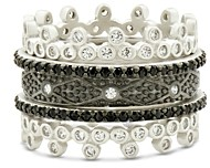 Freida Rothman Industrial Five-Stack Ring