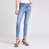 River Island Blue Amelie mid rise skinny jeans