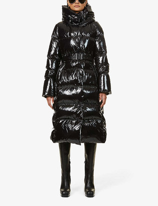 Nicole Benisti Dizin padded shell-down coat