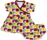 Sweet Peanut Sweatheart Dress (Baby) - South Pacific-NB