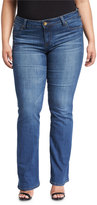 KUT from the Kloth Natalie Boot-Cut Jeans, Blue