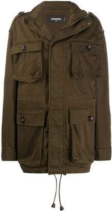 DSQUARED2 oversized cargo jacket
