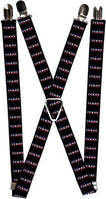 Buckle Down Buckle-Down Men's Suspender-Texas