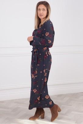 Des Petits Hauts Romary Bruyere Print Dress - 12