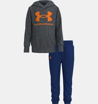 Under Armour Boys' Pre-School UA Symbol Hoodie Set