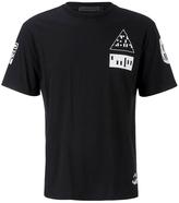 Alexander Wang Etching Scanner Short Sleeve Tshirt - Black/white