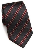Armani Collezioni Diagonal Stripe Silk Tie