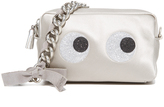 Anya Hindmarch Glitter Eyes Chain Clutch
