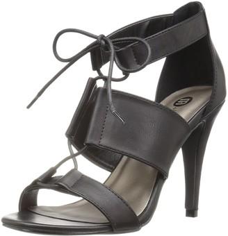 Michael Antonio Women's Pants Dress Sandal Black 5.5 M US