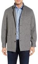 David Donahue Men's Loro Piana Shirt Jacket