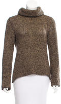 Dolce & Gabbana Wool Metallic Turtleneck