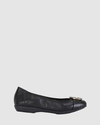 Easy Steps - Women's Black Ballet Flats - Nadine - Size One Size, 7.5 at The Iconic