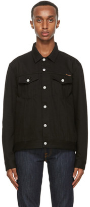 Nudie Jeans Black Jerry Denim Jacket