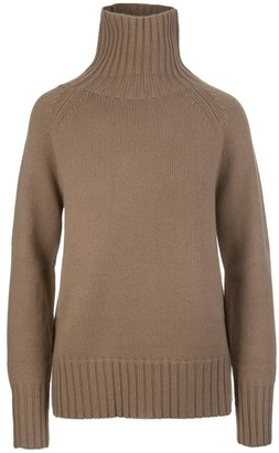 'S Max Mara High Neck Knit Sweater