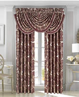 "J Queen New York Rosewood Burgundy 84"" x 100"" Pair of Window Panels"