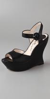 Jana Ankle Strap Wedge Sandals