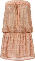 Melissa Odabash Adeline Strapless Coverup Dress