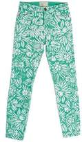 DVF Loves Current/Elliott Printed Skinny Jeans w/ Tags