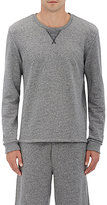 Barneys New York MEN'S MÉLANGE COTTON-BLEND SWEATSHIRT