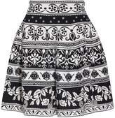 Alexander McQueen Spring Floral Mini Skirt